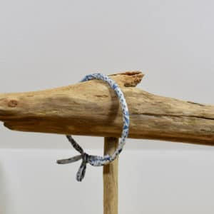 Bracelet Jonc en Liberty Adelajda Bleu