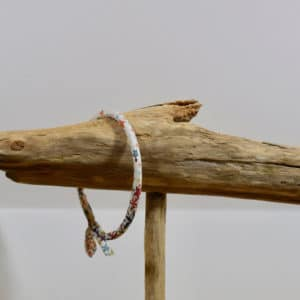 Bracelet Jonc en Liberty Adelajda Multicolore