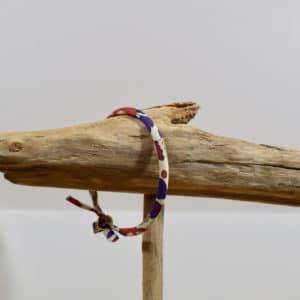 Bracelet Jonc en Liberty Betsy Autumn Dream