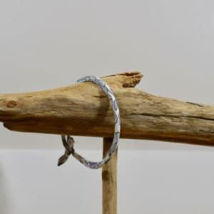 Bracelet Jonc en Liberty Betsy Platine X