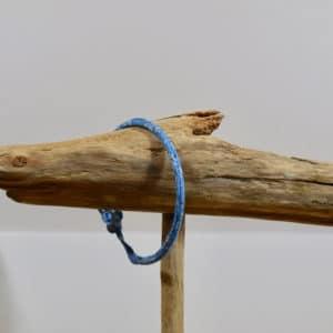 Bracelet Jonc en Liberty Capel Bleu C