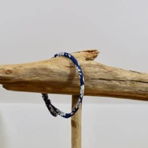 Bracelet Jonc en Liberty Capel Marine A19