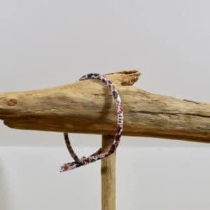 Bracelet Jonc en Liberty Wiltshire Bud Noisette