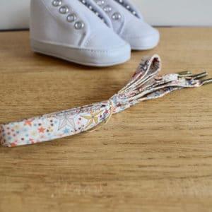 Lacet 67 cm en Liberty Adelajda Multicolore