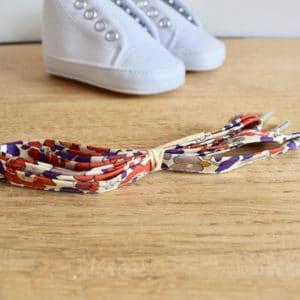Lacet 67 cm en Liberty Betsy Autumn Dream
