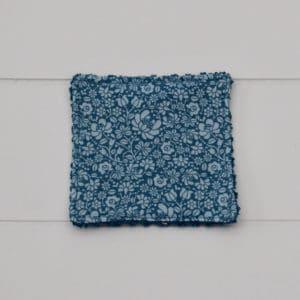 Lingette éponge bleu en Tilda Sigrid blue