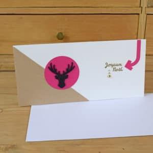 Carte à Bon Cadeau Cerf