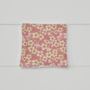 Lingette bambou en Tilda Cherry Blossom Pink