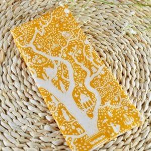 Etui livret de famille en Tilda Lemontree Yellow