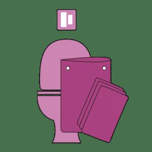 Kit de voyage lingette toilette